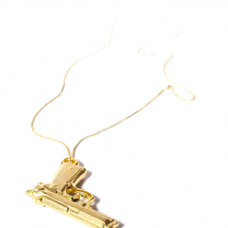 Gun Necklace // Automatic