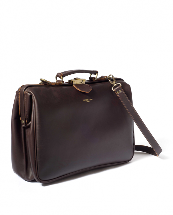 leather luxury bag