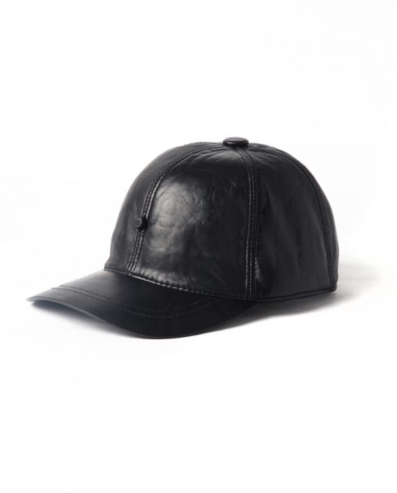 matte black cap