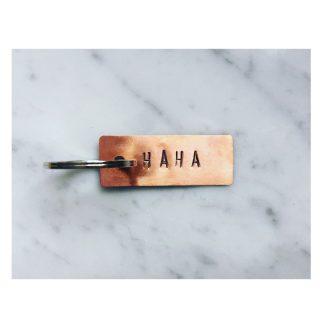 Key ring HAHA // Copper