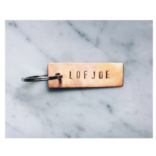 Key Ring LOFJOE // Copper